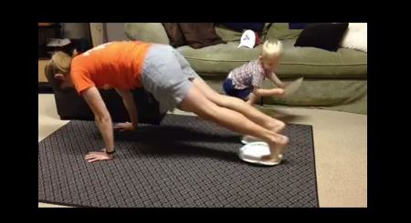Paper Plate Workout #1