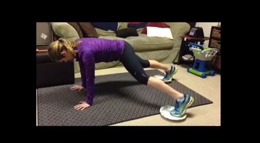 Paper Plate Workout #3