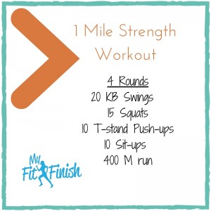 1 Mile Strength Workout