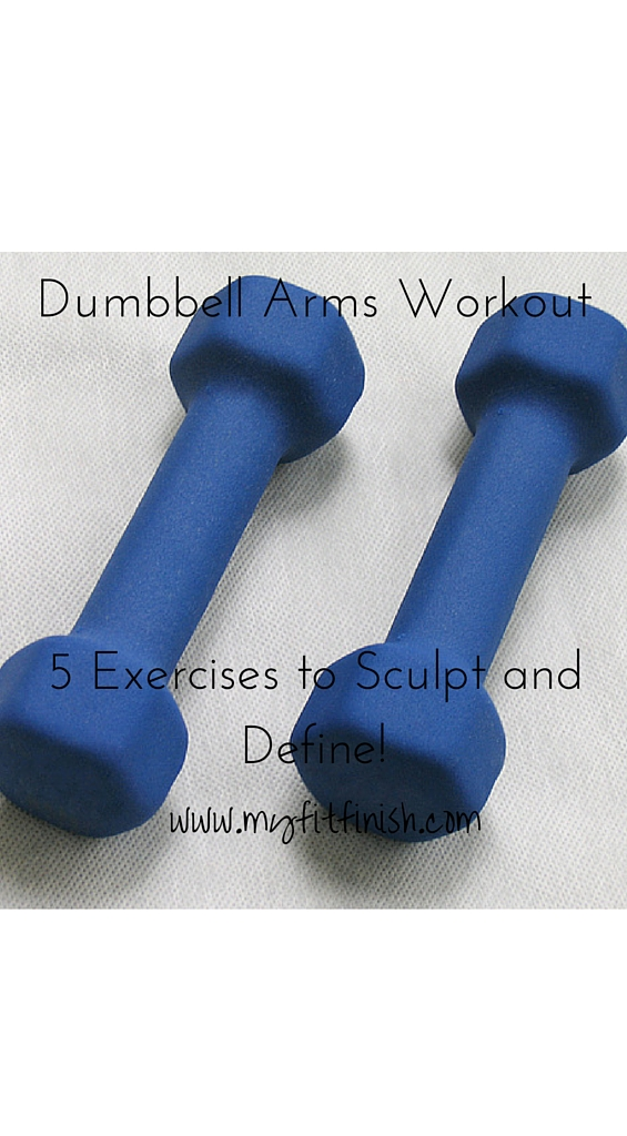 Dumbbell Arms Workout – 5 Exercises to Sculpt and Define!