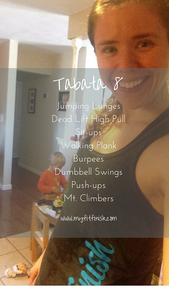 Tabata 8 Workout