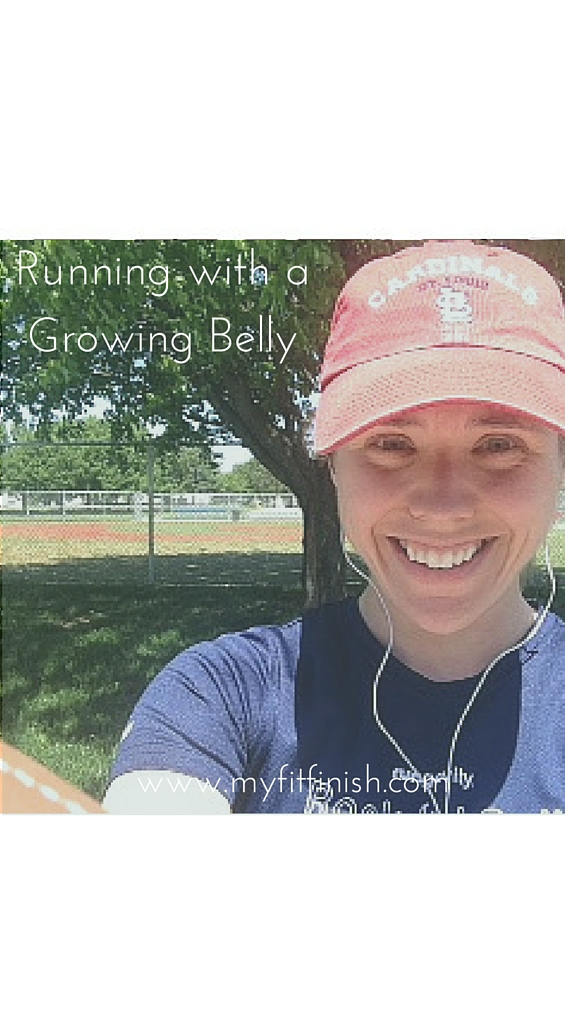 How I Continue to Run with a Growing Belly