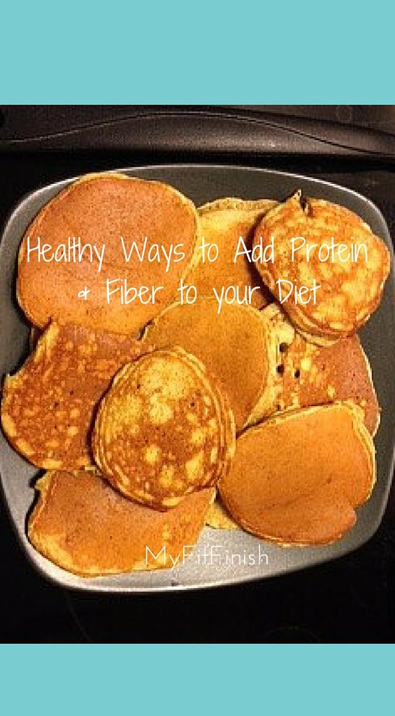 Healthy Ways to Add Protein & Fiber to Your Diet!