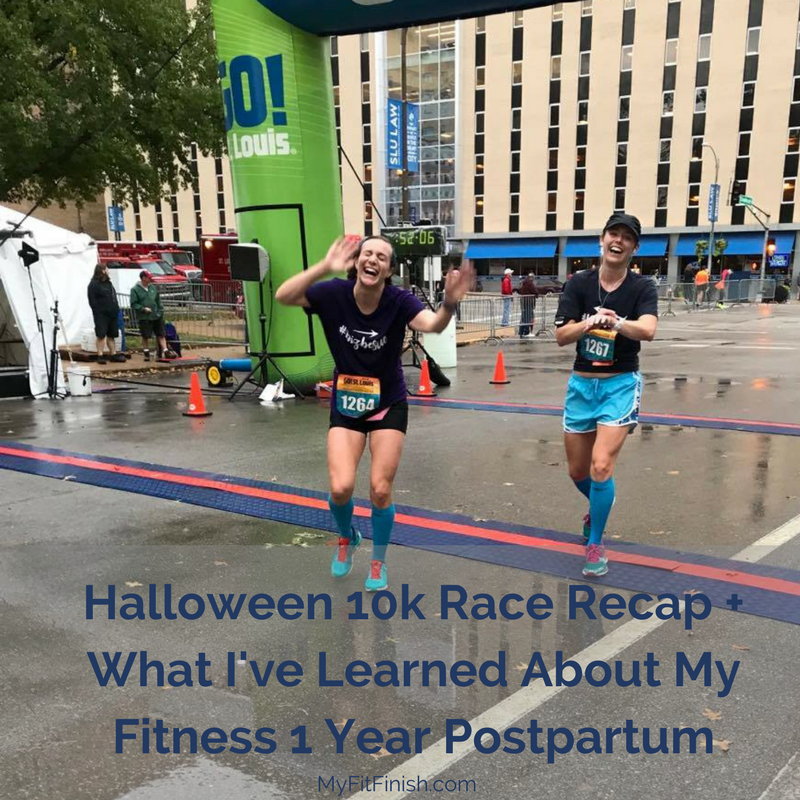 Halloween 10k Race Recap + What I've Learned About My Fitness 1 Year Postpartum