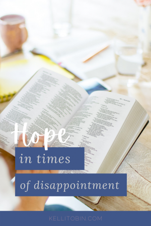 hope, disapointment