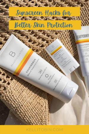 sunscreen, beautycounter sunscreen