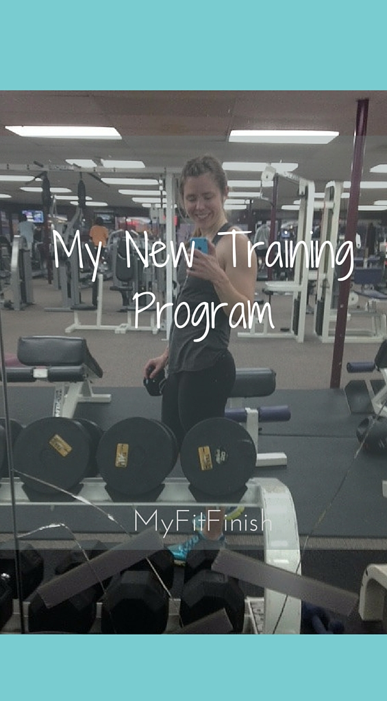 My New Training Program!