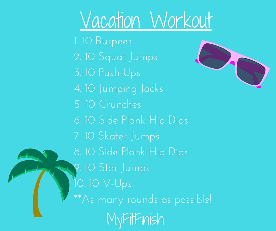 Vacation Workout Series