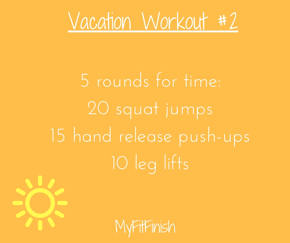 Vacation Workout #2