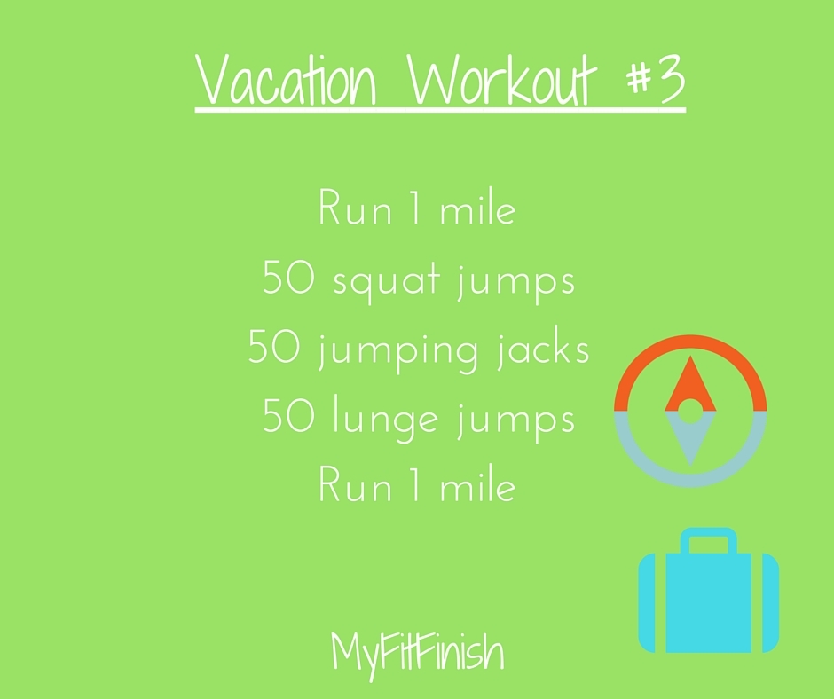 Vacation Workout #3