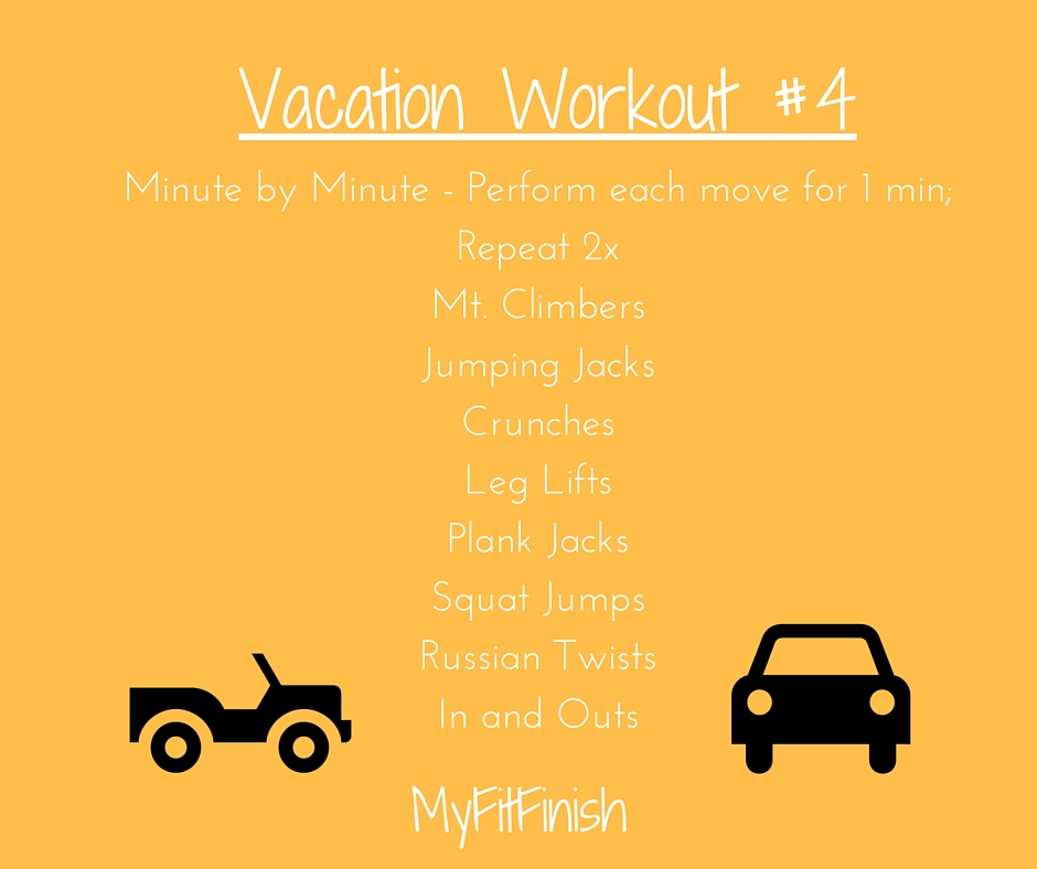 Vacation Workout #4
